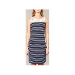 Sukienki krótkie Smash  CARIOSA. Niebieskie sukienki mini marki Smash, s, z krótkim rękawem. Za 199,20 zł.