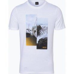 BOSS Casual - T-shirt męski – TLax 2, czarny. Czarne t-shirty męskie z nadrukiem BOSS Casual, l. Za 179,95 zł.