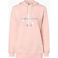 Calvin Klein Jeans - Damska bluza nierozpinana, różowy. Czerwone bluzy sportowe damskie Calvin Klein Jeans, s, z jeansu. Za 479,95 zł.