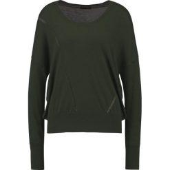 Swetry klasyczne damskie: Sisley Sweter green