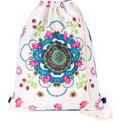 Torebki i plecaki damskie: Art of Polo Plecak damski Mandala biały