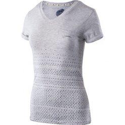 T-shirty damskie: IGUANA T-SHIRT damski Lanre light grey melange r. S