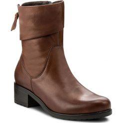 Botki LASOCKI - 7467-01 Brązowy. Brązowe buty zimowe damskie Lasocki, ze skóry, na obcasie. Za 279,99 zł.