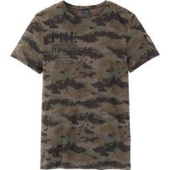 T-shirty męskie: Długi t-shirt Regular Fit bonprix oliwkowy moro