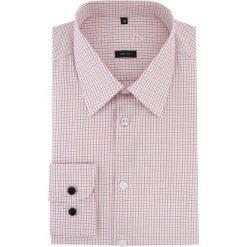 Koszula MARCO 15-09-16-K. Czarne koszule męskie na spinki marki Giacomo Conti, m, z bawełny, z klasycznym kołnierzykiem. Za 199,00 zł.