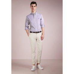 Polo Ralph Lauren SLIM FIT  Koszula black/white hai. Szare koszule męskie slim marki Polo Ralph Lauren, l, z bawełny, button down, z długim rękawem. W wyprzedaży za 351,20 zł.