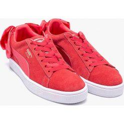 Buty sportowe dziewczęce: Puma – Buty Suede Bow Jr