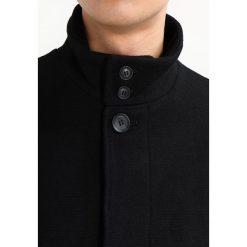 Burton Menswear London SMART Płaszcz wełniany /Płaszcz klasyczny black. Czarne płaszcze na zamek męskie Burton Menswear London, m, z materiału, klasyczne. W wyprzedaży za 439,20 zł.