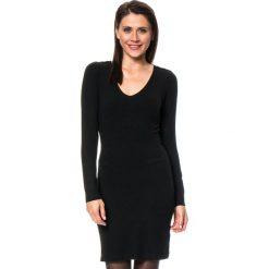 Sukienki dzianinowe: Sukienka w kolorze czarnym