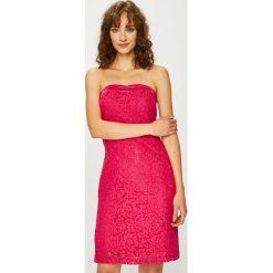 Morgan - Sukienka. Szare sukienki koronkowe marki Morgan, na co dzień, m, casualowe, mini, proste. W wyprzedaży za 229,90 zł.