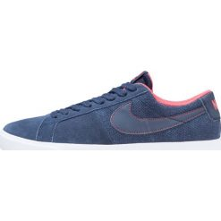 Nike SB BLAZER VAPOR Tenisówki i Trampki obsidian/white/track red. Niebieskie trampki męskie Nike SB, z materiału. W wyprzedaży za 246,35 zł.