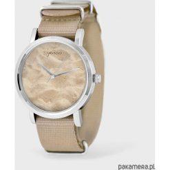 Zegarek, bransoletka - Sand beach - beżowy, nato. Brązowe bransoletki damskie na nogę Pakamera. Za 129,00 zł.