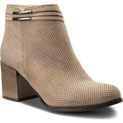 Botki SERGIO BARDI - Belmonte SS127323318GM 403. Brązowe buty zimowe damskie Sergio Bardi, z nubiku, na obcasie. W wyprzedaży za 269,00 zł.