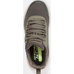 Skechers DYNAMIGHT Tenisówki i Trampki olive. Szare trampki chłopięce marki Skechers, z materiału. Za 169,00 zł.