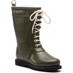 Kalosze ILSE JACOBSEN - RUB15 Army 41. Brązowe buty zimowe damskie marki Alma en Pena, z materiału, na obcasie. W wyprzedaży za 429,00 zł.