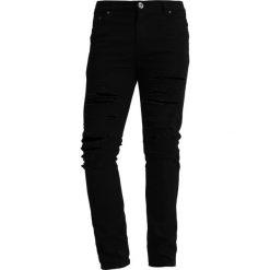 Liquor N Poker DISTRESSED Jeans Skinny Fit black. Niebieskie rurki męskie marki Tiffosi. Za 239,00 zł.