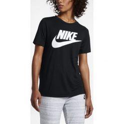 Koszulka Nike NSW Essential Tee (829747-010). Czarne bluzki damskie marki Alpha Industries, z materiału. Za 99,99 zł.