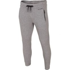 Joggery męskie: Spodnie dresowe męskie SPMD002 - chłodny jasny szary