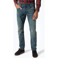 G-Star - Jeansy męskie – 3301, niebieski. Niebieskie jeansy męskie regular G-Star. Za 529,95 zł.