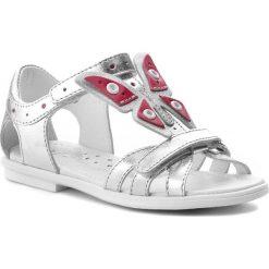 Sandały dziewczęce: Sandały BARTEK – 36209/12D Srebrny