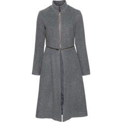 Płaszcz z zamkiem bonprix ciemnoszary. Szare płaszcze damskie bonprix. Za 239,99 zł.