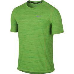 Nike Koszulka męska Dri-Fit Cool Miler SS zielona r. S (718348 313). Zielone koszulki sportowe męskie marki Nike, m. Za 72,49 zł.