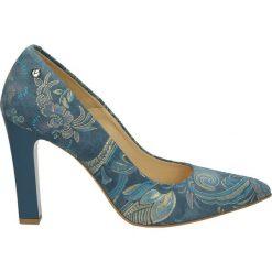 Buty ślubne damskie: Czółenka - 3900-4941 B-M