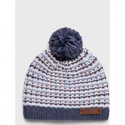 Roxy - Czapka. Szare czapki zimowe damskie Roxy, z dzianiny. Za 139,90 zł.