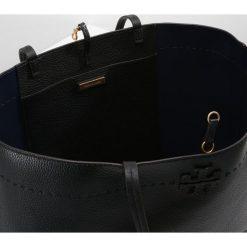 Tory Burch MCGRAW TOTE Torba na zakupy black/royal navy. Czarne torebki klasyczne damskie Tory Burch. Za 1659,00 zł.