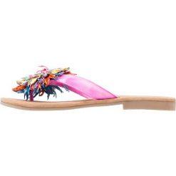 Chodaki damskie: Lazamani Japonki fuxia/multicolor