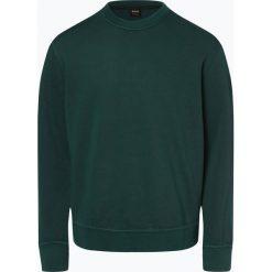 BOSS Casual - Męska bluza nierozpinana – Word, zielony. Zielone bejsbolówki męskie BOSS Casual, l, z bawełny. Za 599,95 zł.