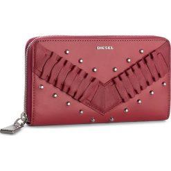 Duży Portfel Damski DIESEL - Granato X05025 P1480 T4059. Czerwone portfele damskie Diesel, ze skóry. W wyprzedaży za 399,00 zł.