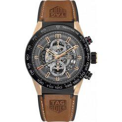 ZEGAREK TAG HEUER CARRERA CAR2A5C.FT6125. Czarne zegarki męskie TAG HEUER, ceramiczne. Za 39090,00 zł.