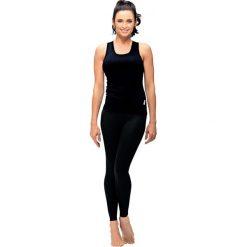 Gwinner Legginsy CLASSIC LEGGINGS czarne XXL. Czarne legginsy sportowe damskie marki Gwinner, xxl. Za 43,29 zł.