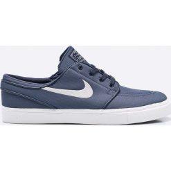 Nike Sportswear - Buty Zoom SB Stefan Janoski Cnvs. Szare buty skate męskie Nike Sportswear, z gumy, na sznurówki. W wyprzedaży za 299,90 zł.