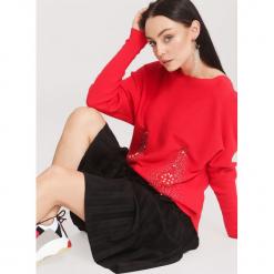 Czerwony Sweter Beyond Doubt. Czerwone swetry klasyczne damskie other, l. Za 89,99 zł.