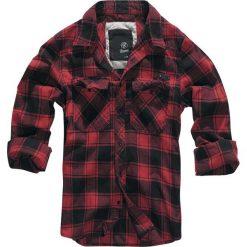 Brandit Checkshirt Koszula czerwony/czarmy. Białe koszule męskie na spinki marki Brandit, l, z aplikacjami, z bawełny, z długim rękawem. Za 164,90 zł.