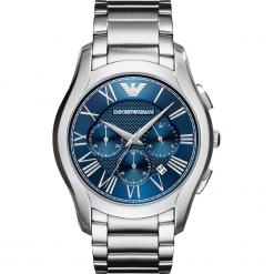Zegarek EMPORIO ARMANI - Valente AR11082 Silver/Silver. Szare zegarki męskie Emporio Armani. Za 1349,00 zł.