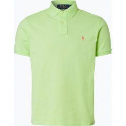 Polo Ralph Lauren - Męska koszulka polo, żółty. Żółte koszulki polo marki Polo Ralph Lauren, m, z bawełny, z krótkim rękawem. Za 299,95 zł.