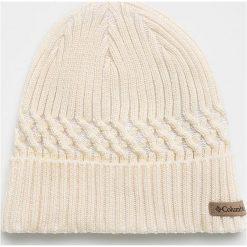 Columbia - Czapka. Szare czapki zimowe męskie Columbia, na zimę, z dzianiny. Za 129,90 zł.