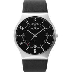 Zegarek SKAGEN - Grenen 233XXLSLB Black/Silver/Steel. Brązowe zegarki męskie Skagen. W wyprzedaży za 449,00 zł.