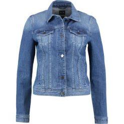 Armani Exchange Kurtka jeansowa denim indaco. Czarne kurtki damskie jeansowe marki Armani Exchange, l, z kapturem. W wyprzedaży za 503,20 zł.
