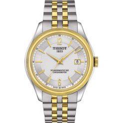 PROMOCJA ZEGAREK TISSOT BALLADE T108.408.22.037.00. Szare zegarki męskie TISSOT, ze stali. W wyprzedaży za 3960,00 zł.