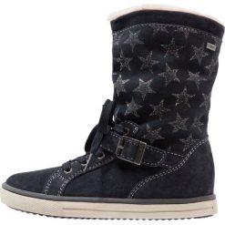 Lurchi SHARA TEX Kozaki atlantic. Czarne buty zimowe damskie marki Lurchi, z materiału. W wyprzedaży za 159,50 zł.