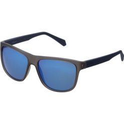 Okulary przeciwsłoneczne męskie aviatory: Polaroid Okulary przeciwsłoneczne matt blue