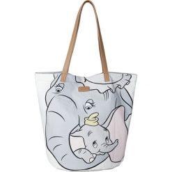 "Shopper bag damskie: Shopper bag ""Dumbo"" w kolorze szarym – 55 x 44 x 38 cm"