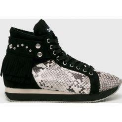 Desigual - Buty. Szare buty sportowe damskie marki Desigual, l, z tkaniny, casualowe, z długim rękawem. Za 499,90 zł.