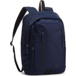 Plecak NIKE - BA5532 451. Niebieskie plecaki męskie Nike, z materiału, sportowe. Za 119,00 zł.