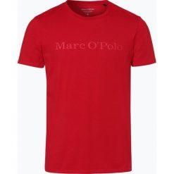 Marc O'Polo - T-shirt męski, czerwony. Czerwone t-shirty męskie Marc O'Polo, m, z napisami, z bawełny, polo. Za 89,95 zł.