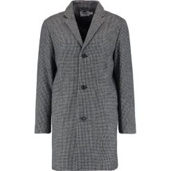 Topman DOGTOOTH Płaszcz wełniany /Płaszcz klasyczny black. Czarne płaszcze wełniane męskie marki Topman, m, klasyczne. W wyprzedaży za 367,20 zł.